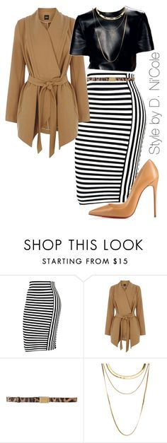 """Untitled #2012"" by stylebydnicole ❤ liked on Polyvore featuring Oasis, CÉLINE, Dolce&Gabbana, French Connection and Christian Louboutin"