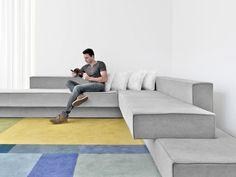O concreto como fonte de inspiração Arquiteto Paulo Kobylka cria peça minimalista