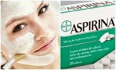 aspirina cara mascarilla