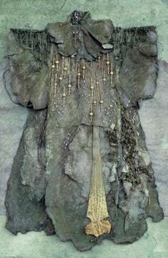 dress - indigovy drak