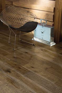 Collection Imagine   Plancher de bois franc en hickory d'antan couleur Fossil