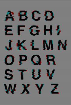 glitch font | Tumblr