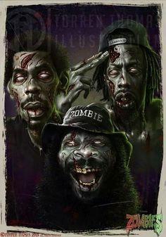 FlatBush Zombies haha jst 4 Halloween niggaz