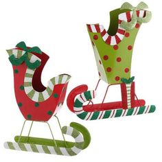 Browse our selection of RAZ Polka Dots & Stripes Christmas Decorations here at Trendy Tree - Raz trendy and whimsical Christmas decoration and stunning home accessories. Whimsical Christmas Trees, Christmas Tree Decorations, Halloween Decorations, Christmas Sleighs, Christmas Paper Crafts, Christmas Projects, Green Christmas, Christmas Colors, Christmas Stuff