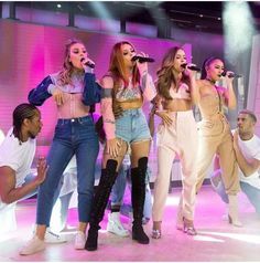 Little Mix performing at Today show on 28th February