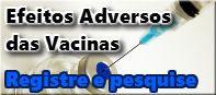Registro de Efeitos Adversos das Vacinas