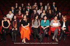 Les diplômés du Master Communication Interculturelle et Traduction