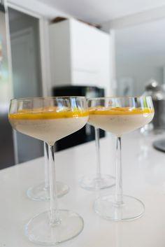 Yoghurtpannacotta med mango och passion - 56kilo.se - Recept, inspiration och livets goda