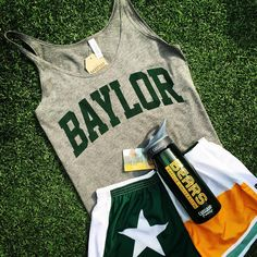 Perfect Baylor workout outfit! #SicEm