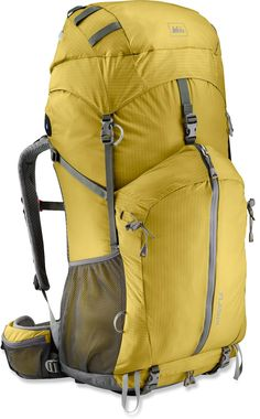 The updated REI Flash 62 pack combines ultralight materials with the comfort and performance you'd expect from a heavier pack. #REIGifts