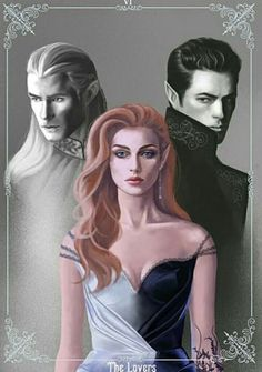 Tamlin, Feyre, and Rhysand. A Court Of Wings And Ruin, A Court Of Mist And Fury, Feyre And Rhysand, Sarah J Maas Books, Throne Of Glass Series, Crescent City, Fantasy Books, Book Characters, Book Nerd