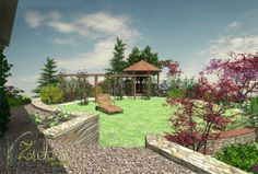 The concept of the garden in Mierzyn