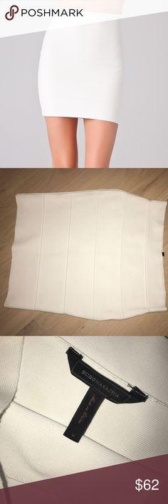 BCBG bandage skirt BCBG white bandage skirt BCBG Skirts