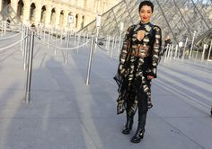 Ruth Negga in Louis Vuitton