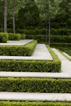 Peter has been designing beautiful gardens since Every garden design has… Formal Garden Design, Cottage Garden Design, Landscape Architecture, Landscape Design, Home And Garden Store, Garden Steps, Garden Park, Modern Backyard, Landscape Lighting