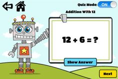 FREE app Oct 25 (reg 2.99) SoGaBee's Math Facts Fun: Addition, Subtraction, Multiplication and Division