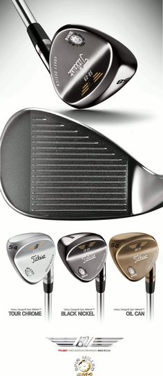 Vokey Design SM4 Black Nickel Wedge by Titleist® · Spin Milled Black Nickel Finish · RH Only · Dynamic Gold Steel Shaft by True Temper (Made in USA). Available at the European Online Golf Store - GolfMetals.com #AllAboutGolfAndGolfThings!