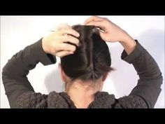 Hair style  in 1 minute French Twist with a stick very easy   Beauty And...