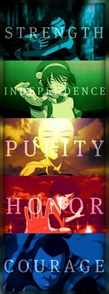 Team Avatar.Or what Sokka called ; The Gaang (see what he did there)