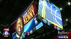 Unless your name is LeBron James, Matthew Dellavedova, or Kyrie Irving, you don't have much of a chance of getting your face on the Humongotron hanging inside Quicken Loans Arena.  But Fox 8's Kenny Crumpton joins the elite group. He got an exclusive behind-the-scenes tour of the control room where the Humongotron comes to life during Cleveland Cavalier games and then he got