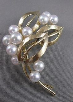Fine Pins & Brooches Honesty 925 Sterling Silver Cz White Round Freshwater Pearls Tree Style Brooch Niki Gems Cheap Sales Other Fine Pins & Brooches
