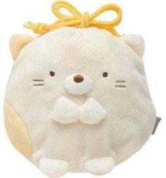 Sumikko Gurashi mini Kinchaku — Small Purse $6.50 http://thingsfromjapan.net/sumikko-gurashi-mini-kinchaku-small-purse/