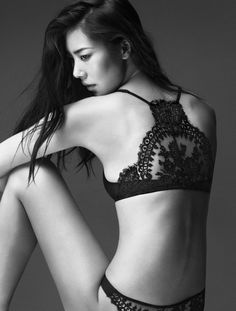 Liu Wen Stars in La Perla Fall/Winter 2014 Campaign by Mert & Marcus