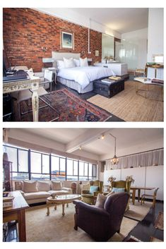 Ellis Place // Experience a sophisticated, luxury penthouse with a panoramic view of Jozi's Skyline in the heart of Maboneng. Includes breakfast at Uncle Merv's Cafe. // Click through for our best rates...