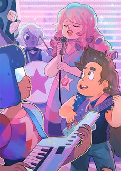 """Pearl: """"I'm in the background…"""""""