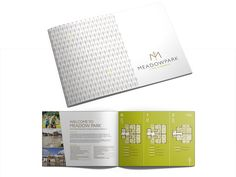 R A Design St Ives Meadow Park (St Ives) Ltd brochure design to promote the high quality ...