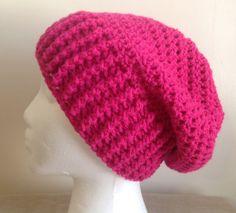 Crochet women's/Teen slouch Hat/ Beanie / by CrochetByDonnaLA