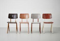 Galvanitas chair by De Machinekamer Galvanitas Antique Chairs, Vintage Chairs, Vintage Furniture, Cool Furniture, Furniture Design, Cafe Tables, Cafe Chairs, Kitchen Chairs, Dining Chairs