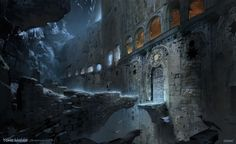 ArtStation - Kitezh Small Gate - Rise of the Tomb Raider Concept Art, Yohann Schepacz OXAN STUDIO