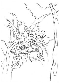 Ben 10 coloring page 15