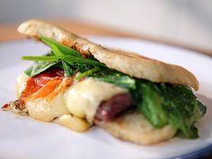 Recetas | Sándwich de mozzarella con higos frescos | Utilisima.com.Narda Lepes
