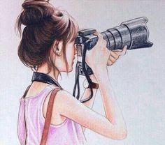 Art - fashion - girly_m Girly M, Cute Girl Sketch, Cute Girl Drawing, Girl Drawing Sketches, Girly Drawings, Cute Drawings Of Girls, Drawing Ideas, Girl Drawing Images, Mädchen Tattoo