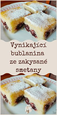 Czech Recipes, Ethnic Recipes, Sweet Cakes, Desert Recipes, Cornbread, Tiramisu, Nom Nom, French Toast, Cheesecake