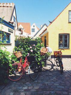 Darling litte Dragør, Denmark - near Copenhagen - is a bloom in summer.