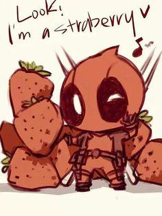 deadpool strawberry