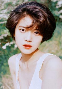 민 서 (2016) : 네이버 블로그 Girl Face, Woman Face, Pretty People, Beautiful People, Girl Short Hair, Grunge Hair, Drawing People, Asian Beauty, Portrait Photography