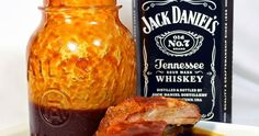 Inspired By eRecipeCards: Jack Daniel's BBQ Sauce - Feeding Larry Pt 1 - Grilling Time Condiments Canning Recipes, Chili Recipes, Sauce Recipes, Smoker Recipes, Yummy Recipes, Recipies, Jack Daniels Bbq Sauce, Barbecue Sauce, Bbq Sauces
