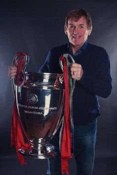 Kenny Dalglish with the European Cup