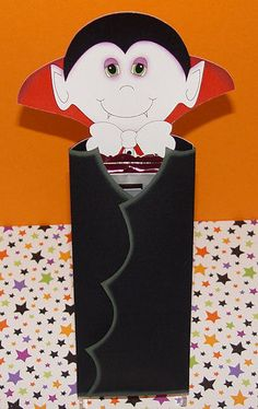 Printable Dracula Candy Bar Holder by MeandMyCraftyDesigns on Etsy, $2.50