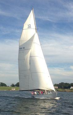 12 Meter America's Cup Yacht in Newport, ...