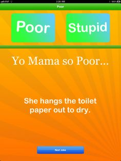 yo mama jokes | Epic Yo Mama Jokes for iPad 1.0