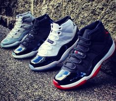Nike Air Jordan 11 i just need the cool greys and the space jams to be able to take this pic but i still have my baby space jams does tht count Air Jordan Sneakers, Nike Air Jordan 11, Nike Air Max, Sneakers Nike, Nike Outfits, Jordan Outfits, Michael Jordan, Tenis Basketball, Zapatillas Nike Jordan