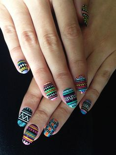 amazing Great Tribal Nail Designs for 2016 - Girls SN - Fashion & Style
