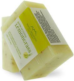 Lemongrass Soap - Handmade Soap - Rocky Mountain Soap