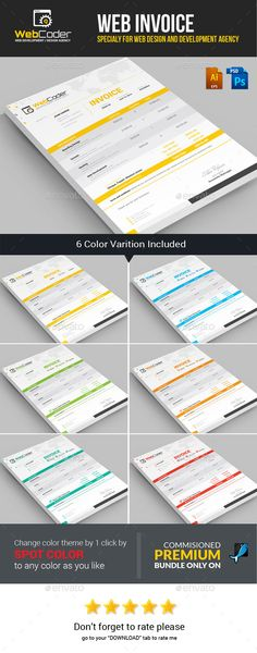 Ndeso Proposal and Invoice Template Proposals, Template and - web design invoice template
