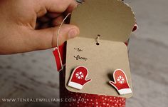 Teneale Williams | Stampin' Up! Cheerful Tags Framelits Dies